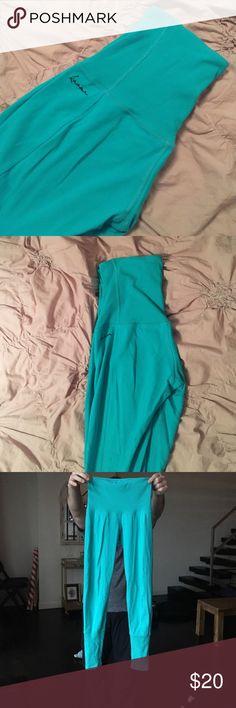 Karma Pants - Blue Great shape Karma blue workout pants - worn just a few times Karma Pants Leggings