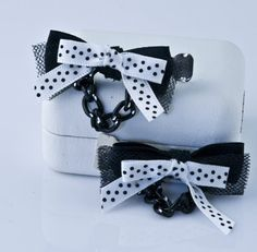Rockabilly inspired hair clips by SwankyDame on Etsy, $11.99