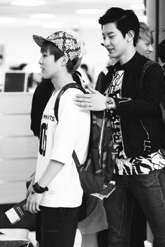 #Xiumin #and #Chanyeol #exo
