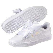 Basket Heart Patent Women s Sneakers   Puma White-Puma White   PUMA Private  Sale   PUMA United States 7cc3a67bd2