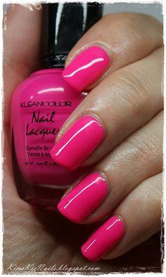 #Kleancolor #Neon #Pink