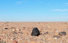 Diamonds found in the Almahata Sitta meteorite (fragment, pictured) come from a mysterious...