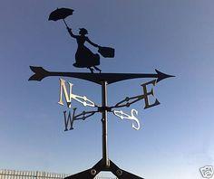 Mary Poppins weathervane