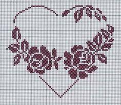 Cross Stitch Owl, Cross Stitch Alphabet, Cross Stitch Flowers, Filet Crochet Charts, Knitting Charts, Wedding Cross Stitch Patterns, Plastic Canvas Patterns, Double Knitting, Hand Embroidery