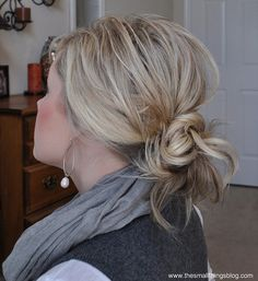 Wish I could get my hair to do this! lol