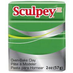 Sculpey III® Oven-Bake Clay, 2oz