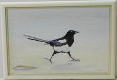 harakka_180 € Blue Jay, Album, Bird, Painting, Animals, Animales, Animaux, Birds, Painting Art