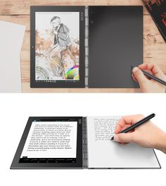 Lenovo's beautiful tablet/laptop hybrid also captures what you draw on paper…