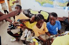 We sent them shoes to run. They qualified for the CAC Games. Learn more: