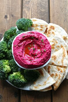 Roasted Beet Hummus