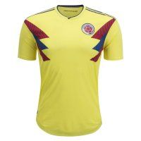 2018 Colombia World Cup Home Player Version Jersey