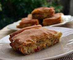 manitaropita mushroom pie by sweetly Cookbook Recipes, Cooking Recipes, Mushroom Pie, Cheese Pies, Pastry Art, Greek Recipes, Stuffed Mushrooms, Appetizers, Vegetarian