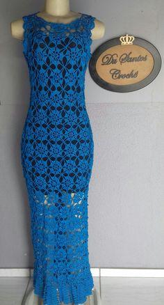 Crochet Wedding Dress Pattern, Crochet Wedding Dresses, Wedding Dress Patterns, Mode Crochet, Crochet Lace, Blouse Dress, I Dress, Crochet Designs, Crochet Patterns