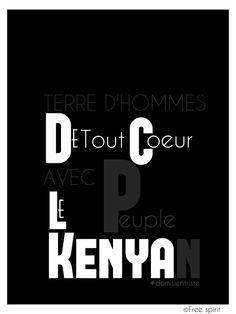 De tout keur avec le kenya et le peuple kenyan