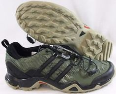 new product bbb59 248bf NEW Mens Sz 9 ADIDAS Terrex Swift R B44116 Green Outdoor Trail Sneakers  Shoes