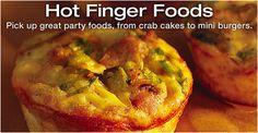 Hot Finger Foods