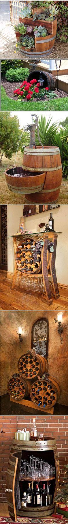 How To Repurpose Wine Barrels