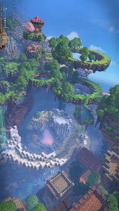 Minecraft Cottage, Minecraft Castle, Cute Minecraft Houses, Minecraft Plans, Minecraft House Designs, Amazing Minecraft, Minecraft Tutorial, Minecraft Blueprints, Minecraft Crafts