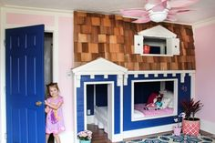 how to build a Bunk bed playhouse tutorial  (32 of 40)