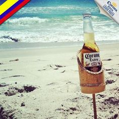 Looks like @electroshock90 has found an amazing place to put his Corona on San Andres Island, Colombia. #corona #coronaextra #theplacetobe