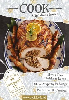 Christmas COOK Book 2015  Eating together with family or friends is what the festive season is all about. Give yourself time to enjoy their company rather than being chained to the kitchen. Whether it's a fancy dinner or something relaxed and informal, we COOK so you don't have to.