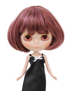 Wigs2dolls.com 人形・ドールウィッグ通販専門店 Doll Wig Online Store B-179 Dドールウィッグ★顔周りがふんわりとしたシルエットの綺麗なショートボブスタイルです^^ #Blythe #BJD #SD #SuperDofflie #Wig #Cosplay #Halloween #Fashion #Wedding #Hair #ヘア #ブライス