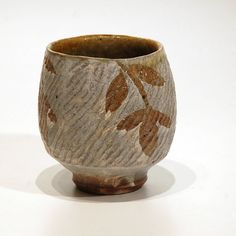 Rope Impressed Cup by klinepottery on Etsy, $38.00