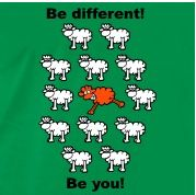 Logo - Be different