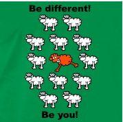 Logo - Be different Different, Logos, Logo
