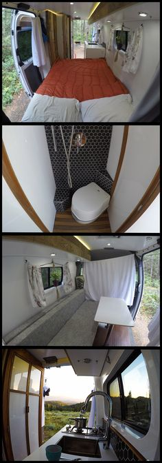 Outdoor Adventure for the Everyday Explorer! Great van conversion