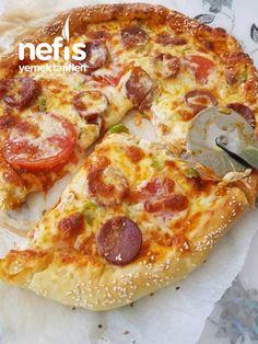 Kenarı Dolgulu Kolay Pizza #kenarıdolgulukolaypizza #pizzatarifleri #nefisyemektarifleri #yemektarifleri #tarifsunum #lezzetlitarifler #lezzet #sunum #sunumönemlidir #tarif #yemek #food #yummy