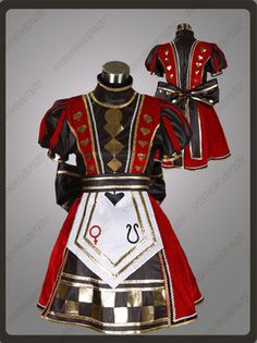 Alice Madness Returns Quee Cosplay Costutme
