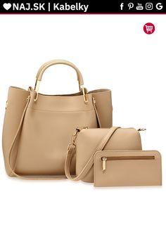Kabelka do ruky telová AG00610 Naha, Shopper Bag, Fashion, Moda, Fashion Styles, Fashion Illustrations