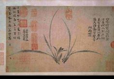 Chinese Painting - ancient copy of Tang period (618 - 906)