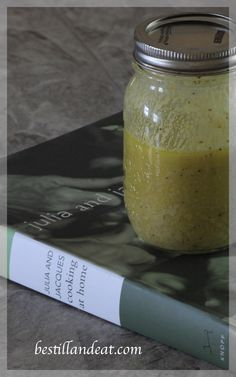 This is seriously the easiest (& most delicious) salad dressing you can make... always a classic!  I pretty much always have some hand for salads or to use as a marinade for a pork tenderloin or some chicken breasts before throwing them on the grill.  Click the Pic to get the recipe for this Classic Dijon Vinaigrette from bestillandeat.com