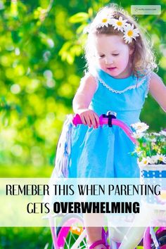 Remember this when parenting gets tough. There are times when parenting cam be so difficult, but this article will help you see the positive side of things.