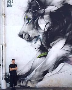 Street Art is a enormously well-liked form of art that is spreading quickly every beyond the world. You can locate it on buildings, sidewalks, street … Murals Street Art, 3d Street Art, Street Art Graffiti, Mural Art, Street Artists, Graffiti Artists, Wall Mural, Art Et Design, Macau