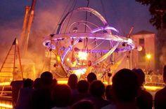 Charroux 2014 Nuit Romane Roman, Saint Sauveur, Ferris Wheel, Fair Grounds, Travel, The Visitors, Night, Viajes, Traveling