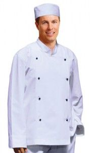 Chefs Jacket Poly Cotton Twill