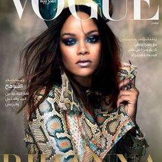 Ecco Rihanna in versione regina Nefertiti su Vogue Arabia