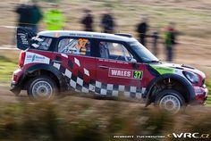 2011 Wales: Dani Sordo, Mini John Cooper Works WRC, 19th