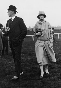 Coco with Hugh Grosvenor, 2nd Duke of Westminster, in 1924