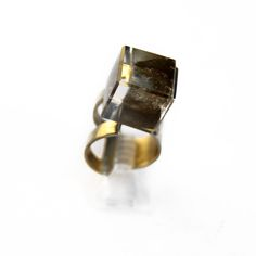 Anillo Alice black.  Russel 5008, Palermo. Buenos Aires. Argentina. www.heliciabsas.com Helicia Bs As