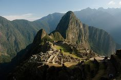 Inca Trail, Peru: This ancient trail was laid by the Incas and leads from the Sacred Valley to Machu Picchu.