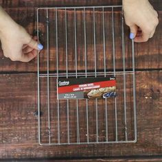 Check out these cooling rack hacks to get yourself totally organized! #organization