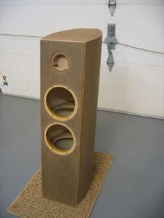 Post with 61 votes and 24290 views. Shared by Speaker Build Diy Speakers, Built In Speakers, Speaker Box Design, Tower Design, Loudspeaker, Door Handles, Woodworking, Diy Projects, Audio