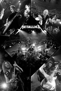 Metallica (Live) - plakat | Sklep ePlakaty.pl