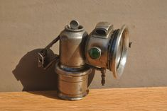 Antique Jos Lucas Carbide Lamp. 1910 Calcia Cadet Metal Bicycle Light. by GoldenGully on Etsy