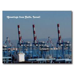 #Haifa  #Bay Photograph #Postcard