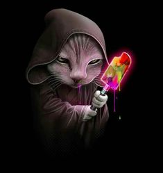 OBI WAN ICE LOLLY SABER CAT